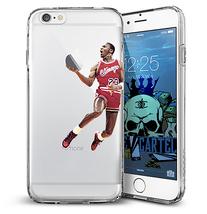 Michael Jordan iPhone 6 Plus Phone Case One Hand - $14.99