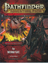 The Inferno Gate - Pathfinder Adventure Path: Hell's Vengeance #3 - Paiz... - $10.39