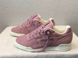 New Women's Reebok Workout Lo Shoes ~Infused Lilac~ Size 8.5 (CN4623) - $49.99