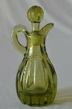 Imperial Glass Verde Green Cruet - $19.80