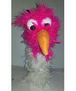 """C9 * Deluxe Custom """"Pink / White Bird""""  Sock Puppet * Custom Made - $10.00"""