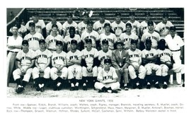 1956 NEW YORK GIANTS 8X10 TEAM PHOTO BASEBALL MLB PICTURE NY - $3.95