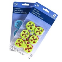 48ct Helping Hand Sock Locks Keep Socks Paired in Washer Dryer Laundry W... - $11.63