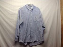 Van Heusen Light Blue Button Down Dress Shirt Sz 18.5 34/35