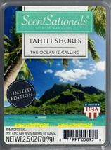 Tahiti Shores ScentSationals Scented Wax Cubes Tarts Melts Potpourri Ocean - $3.50