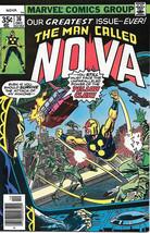 The Man Called NOVA Comic Book #16, Marvel Comics 1977  FINE+ - $3.75