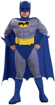 Rubies Brave & the Bold Deluxe Batman Muscle Chest Boys Halloween Costum... - $34.99