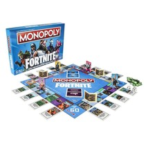 Fortnite Edition Edition Monopoly Game Video Collectors Gift - $29.54