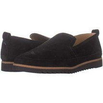 Franco Sarto Haiku 2 Slip On Flats 183, Black Suede, 7 US / 37 EU - $26.87