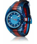 Latest Gucci Sync XL Swiss Transparent Nylon Strap Unisex Watch YA137112 - £180.24 GBP