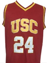 Brian Scalabrine College Basketball Jersey Sewn Maroon Any Size image 4