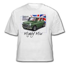 MINI T SHIRT - Personalised with your car Austin Mini Morris Mini - $31.56