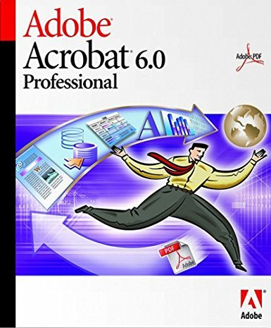 Adobe Acrobat 6.0 Professional Upgrade for Mac Macintosh