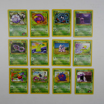 Lot Pokemon Trading Cards Nintendo First Edition Base 1999 Butterfree Tangela - $24.71