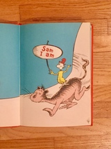 """Vintage """"Green Eggs and Ham"""" 1960 hardcover childrens book - 1st Edition image 4"""