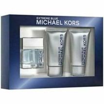 Michael Kors Extreme 3-pc Set - Blue - 2.3 OZ EDT- 2.5 FL Shave Balm Body Wash - $69.52