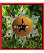 HAMILTON CHRISTMAS ORNAMENT - BROADWAY - MUSICAL - $12.95