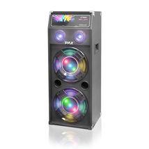 Pyle PSUFM1240P 1400W Disco Jam Dual Passive DJ Speaker System + Flashin... - $392.77 CAD