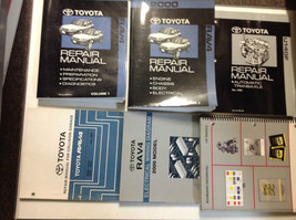 2000 TOYOTA RAV4 RAV 4 Service Shop Repair Workshop Manual Set W Lots - $287.09
