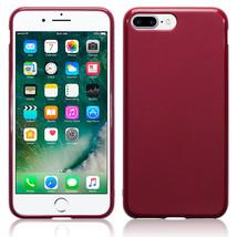 Apple iPhone 7 Case Genuine Tech TPU Flex Gel Rugged Bumper Red - $14.21