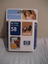 Hp Inkjet Print Cartridge 58 - $11.23