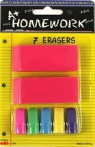 7 piece Eraser Set 48 pcs sku# 1174711MA - $49.90