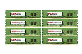 MemoryMasters 128GB (16x8GB) DDR4-2400MHz PC4-19200 ECC RDIMM 1Rx8 1.2V Register - $704.88