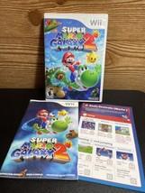 Super Mario Galaxy 2 (Nintendo Wii, 2010) Complete w/ Case - Disc & Manual - $33.65