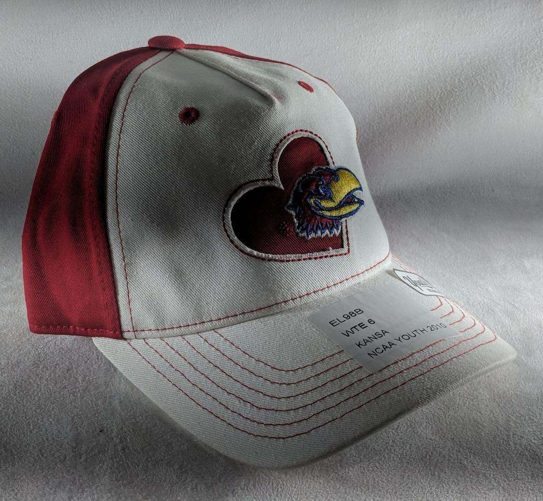 size 40 ee5f1 a7a5c S l1600. S l1600. Previous. LZ Adidas Youth One Size Fits All Kansas  Jayhawks NCAA Baseball Hat Cap ...