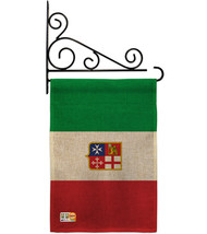 Italian Ensign Burlap - Impressions Decorative Metal Fansy Wall Bracket ... - $33.97