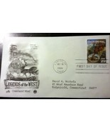 First Day Issue legends of the West envelope - $14.00
