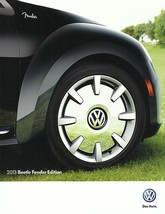 2013 Volkswagen BEETLE FENDER EDITION brochure catalog folder US 13 VW T... - $9.00