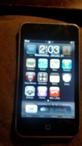 2nd Generation Apple iPod Touch 8GB MP3 Music Player MC086LL A1288 - $24.75