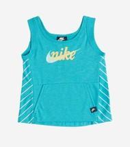 NIKE Girl Standard Fit Sportswear Fleece Tank Top Size S (6-7 year) - $8.15