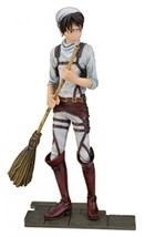 New Attack On Titan Dxf Figure Cleaning Eren Yeager Banpresto Japan Official F/S - $28.84