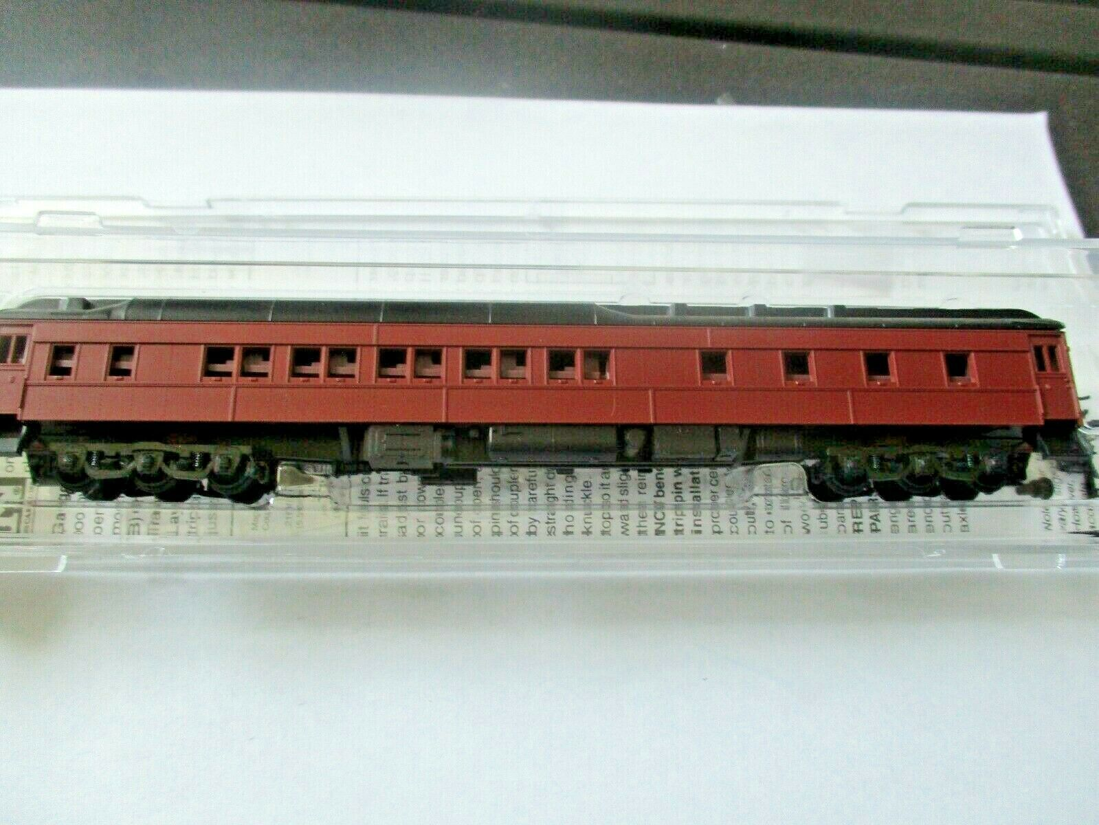Micro-Trains # 14100002 Undecorated Tuscan Red 10-1-2 Heavywight Sleeper Car (N)