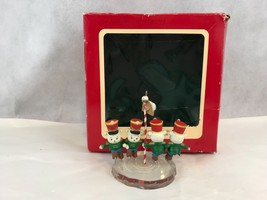 Carlton Cards Heirloom Collection NORTH POLE PARADE Vintage Christmas Or... - $7.79