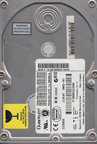 Primary image for Fireball Lct 15, GTLA LC30A01101A, Quantum 30GB IDE 3.5 Hard Drive