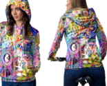 Psychedelic magic mushroom spiritual trippy tongue dmt hoodie women thumb155 crop