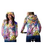 Psychedelic Magic Mushroom Spiritual Trippy Tongue DMT Hoodie Women - $44.99