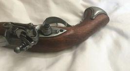 Vintage Imitation Wood Metal Gun Orange Plug Display Antique Replica Pistol image 6