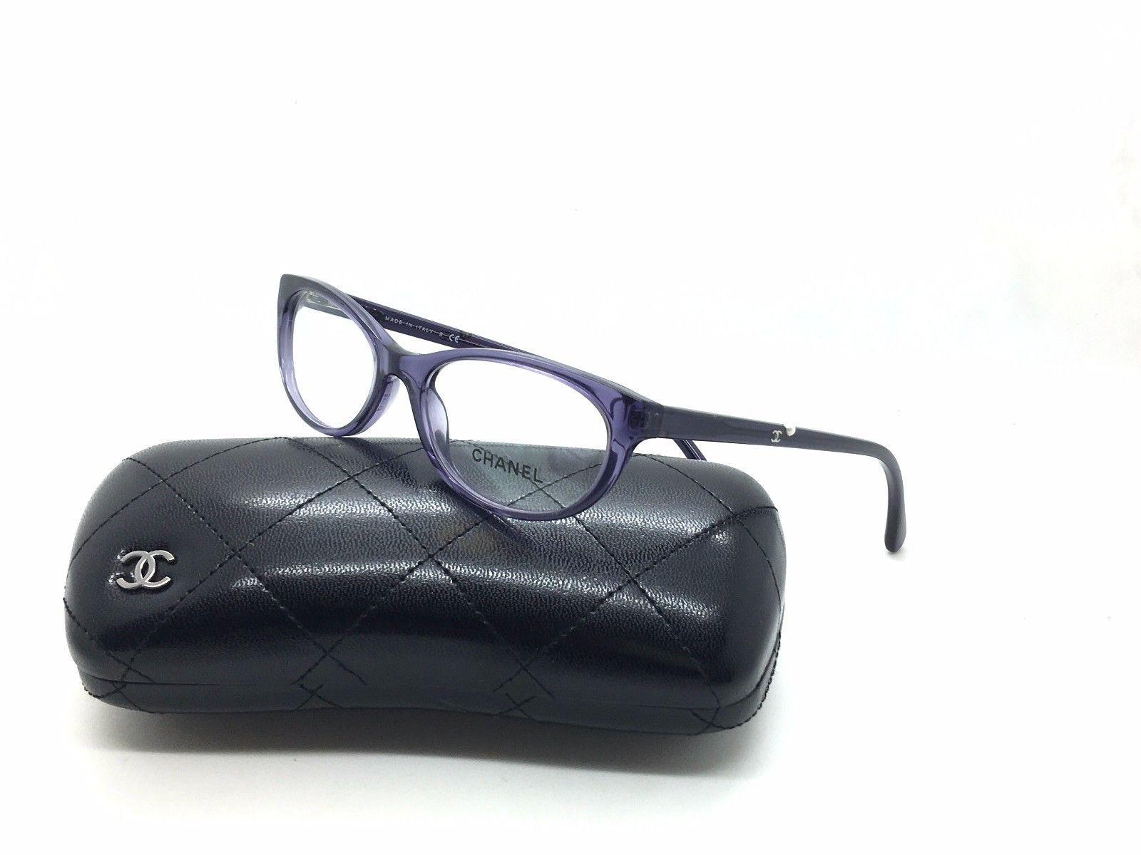 251161623417c Chanel 3254-H C.1121 Purple Eyeglass Frame