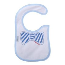 Bowknot Infant Waterproof Toddle Burp Cloths Baby Bibs Neat Solutions Set of 2
