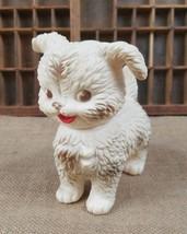 Vintage Edward Mobley ARROW Pequeño Goma Sonido Perro Niños Juguete - $40.34