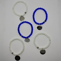 Steel Bracelet or Agate with Anthem Stylish Life of Mother Teresa of Calcutta image 2