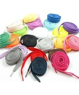 NUOLUX Shoe Laces For Sports Shoes Boots Sneakers Skates Assorted Colors... - $20.13