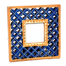 7X7 Picture Frames Made of Solid Wood High Definition Glass Table Top Display - $24.95