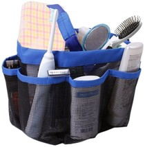 Toiletry Bath Organizer 8 Pockets Hanging Shower Mesh Travel Tote Caddy ... - $11.99