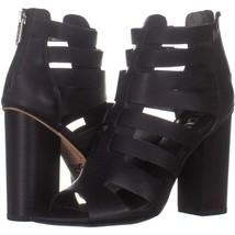Circus Sam Edelman York Strappy Dress Sandals 476, Black, 7 US / 37 EU - $59.51