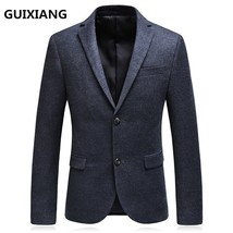 "2017 autumn new style suit men""s business casual blazers men single brea... - $100.00"